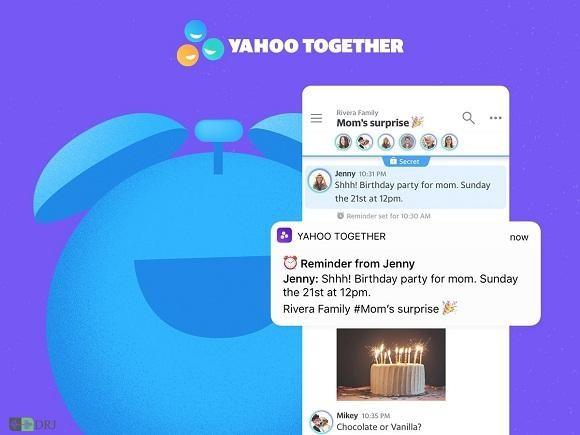 Yahoo Together به دنیای پیام رسان ها آمد